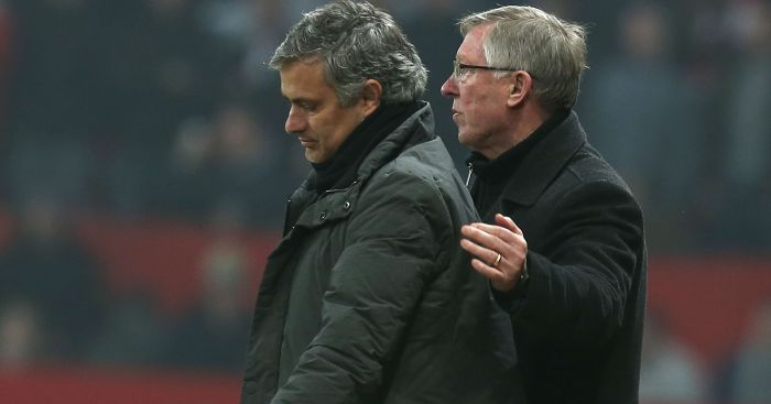 Jose Mourinho: Wants to keep Sir Alex Ferguson 'involved'