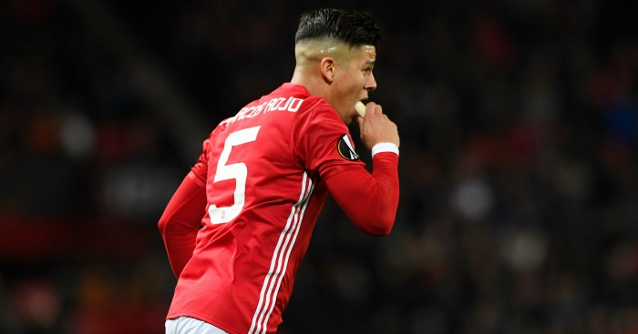 Marcos Rojo eyes Champions League fixture for Manchester United return