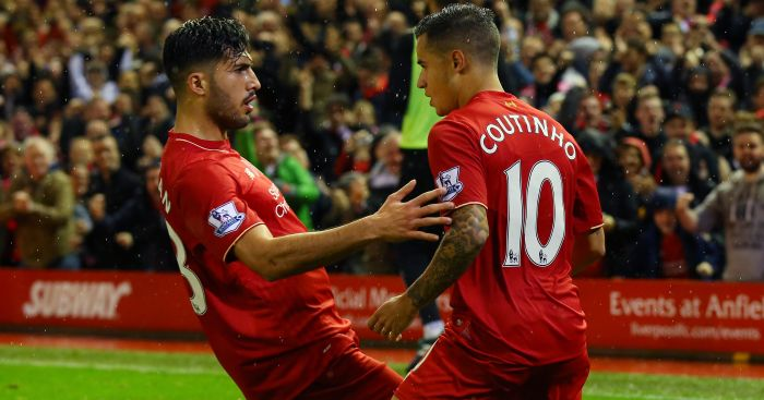 Emre Can & Philippe Coutinho: Both in Klopp's thoughts
