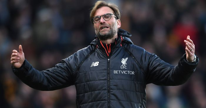 Jurgen Klopp: Needs better options off the Liverpool bench
