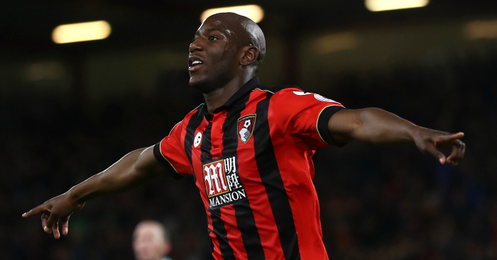 Benik Afobe: Scores second for Cherries