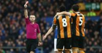 Tom Huddlestone: Saw red in Hull's loss at Everton