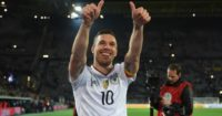 Lukas Podolski: Scored the winner against England in Dortmund