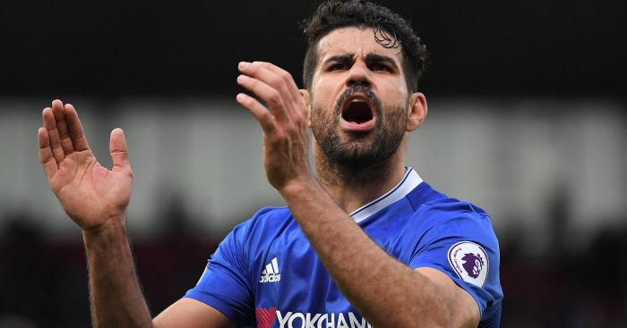 Diego Costa: His antics have upset some Chelsea fans