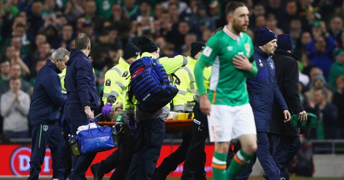 Seamus Coleman: Suffered a fractured leg against Wales