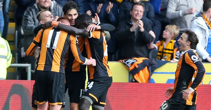 Andrea Ranocchia: Celebrates his winner v West Ham
