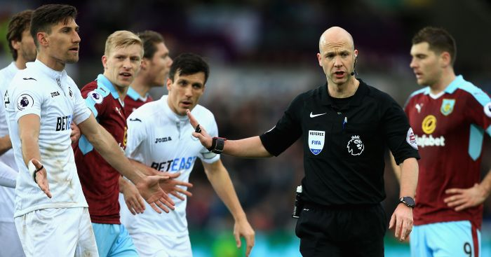 Anthony Taylor: Insists stag do had nothing to do with error