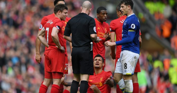 Dejan Lovren: Was not best pleased with Ross Barkley