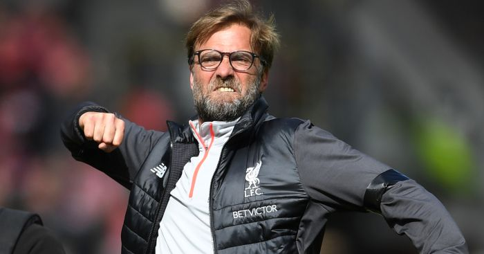 Jurgen Klopp: Celebrates win over Everton