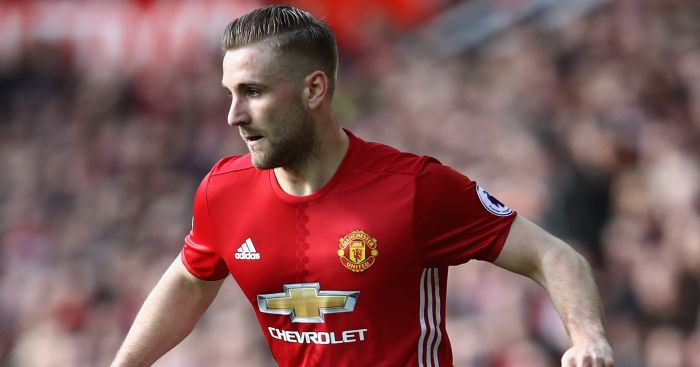 Luke Shaw: Held talks with Mourinho on Monday