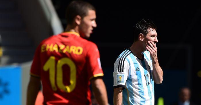 Eden Hazard: Currently in Lionel Messi's shadow