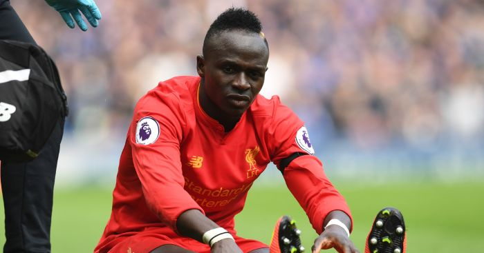 Sadio Mane: Will miss the rest of the season