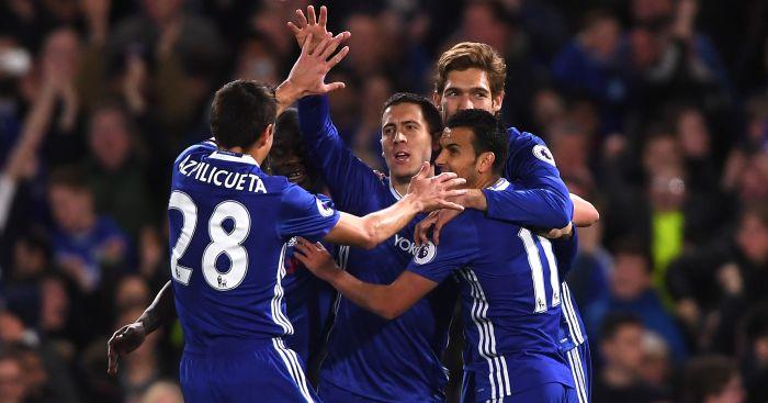 Eden Hazard: Scored twice in Chelsea's win over Man City