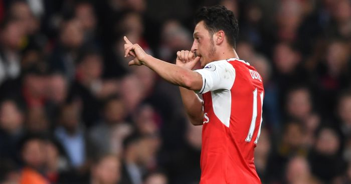 Mesut Ozil: Was back on form against West Ham