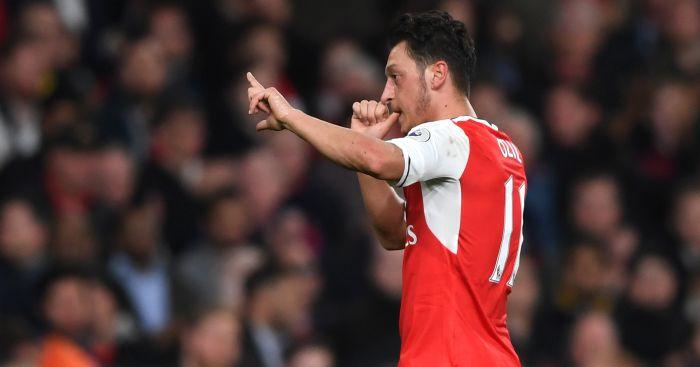 Mesut Ozil: Was back on form against West Ham