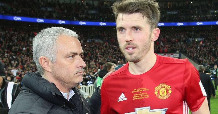 Michael Carrick: Has impressed Jose Mourinho
