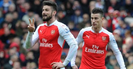 Laurent Koscielny & Olivier Giroud: Targets for Marseille