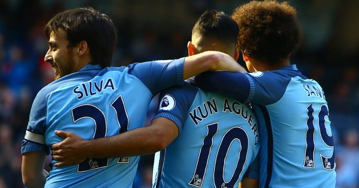 Sergio Aguero: On target for Man City against Hull