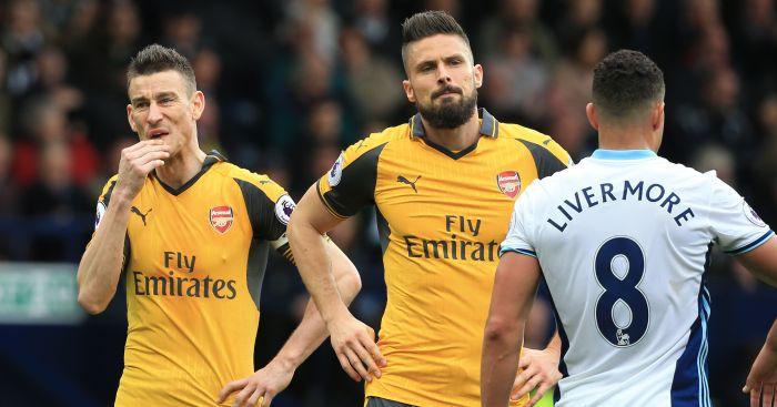 Arsenal: Have struggled this season