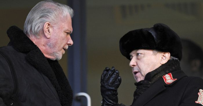 David Sullivan: Insists he is not selling West Ham shares