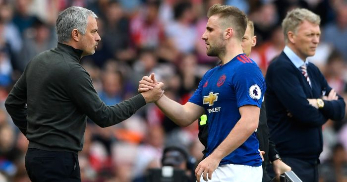 Luke Shaw: Came under fire from Jose Mourinho