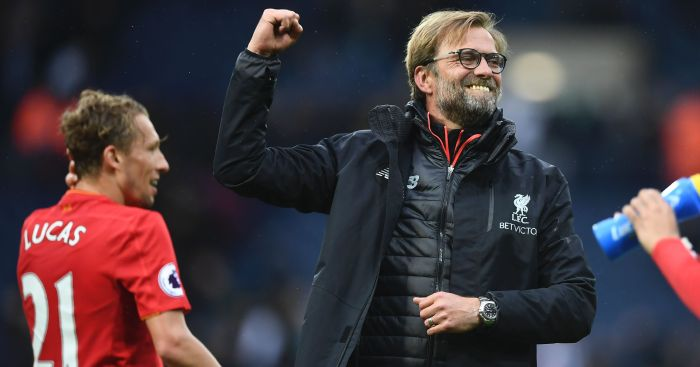 Jurgen Klopp: Delighted with Liverpool win at WBA