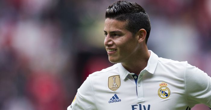 James Rodriguez: Wants United's number 10 shirt