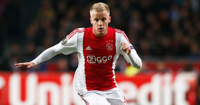 Donny van de Beek: Linked with Man United switch