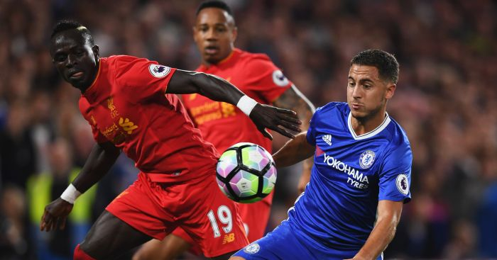 Sadio Mane and Eden Hazard: Both in PFA Team of the Year