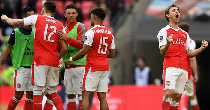 Arsenal: Through to the FA Cup final
