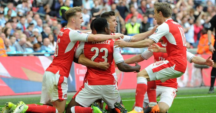 Arsenal: Battled to victory over Man City