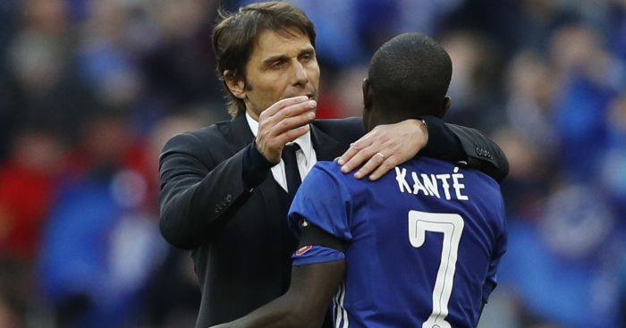N'Golo Kante: Had high praise for Antonio Conte