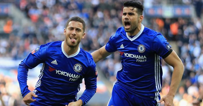 Eden Hazard: Turned the FA Cup semi against Tottenham