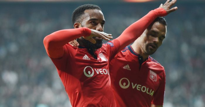 Alexandre Lacazette: Lyon desperate to keep their star