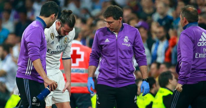 Gareth Bale: Suffered another injury at Real Madrid