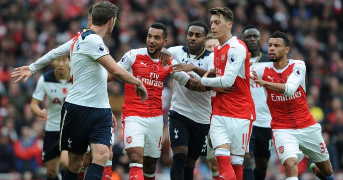 Tottenham and Arsenal: Face off this weekend