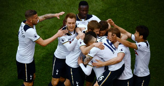 Tottenham: Cruised to victory over Arsenal on Sunday