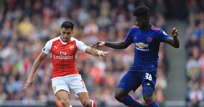 Axel Tuanzebe: Marked Sanchez