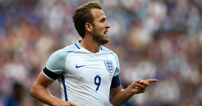 Kane takes England armband - for the time being at least