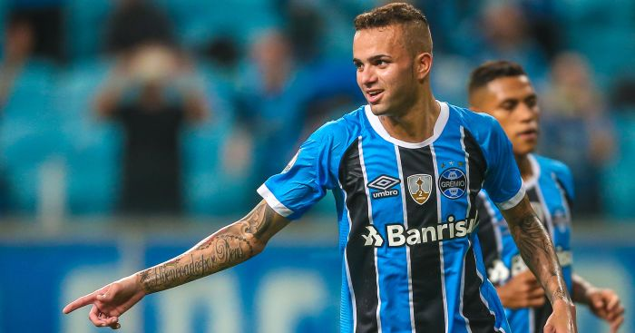Gremio striker Luan: If Liverpool contacted me I'd tell you