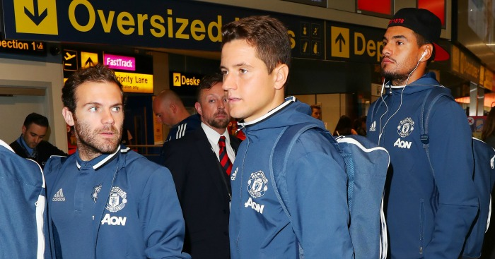 Patience will pay off, Mourinho tells Carrick and Herrera