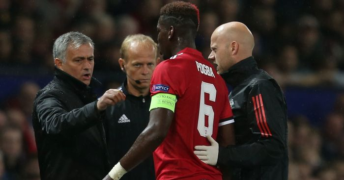 Manchester United FC: Mourinho unsure when Pogba will return