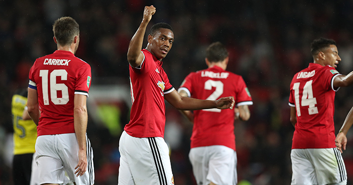 Anthony Martial 'very content' at Manchester United amid Arsenal transfer speculation