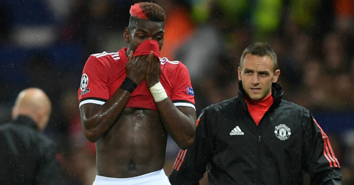 Pogba could have surgery on hamstring injury - surgeon