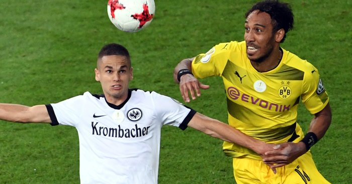 Arsenal will challenge Man Utd for Eintracht Frankfurt midfielder Mijat Gacinovic