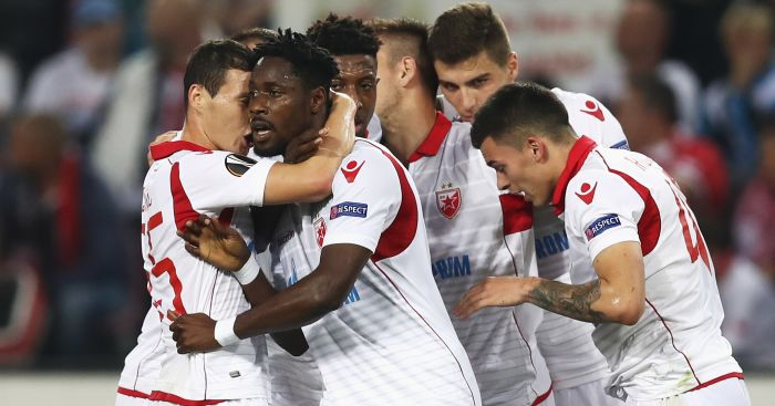 Chelsea to monitor Red Star Belgrade striker Richmond Boakye?