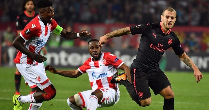 Danny Welbeck and David Ospina to miss Arsenal's Everton visit