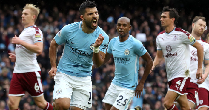 WATCH: Sergio Aguero equals Manchester City's all-time goalscoring record