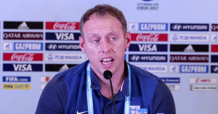England Under-17's boss speechless after World Cup win