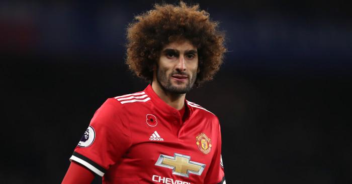 Shock for Man Utd as rivals confirm Marouane Fellaini is leaving